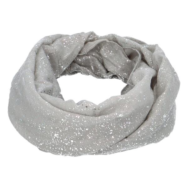 Dámský lehký šátek Sprinkle, šedý