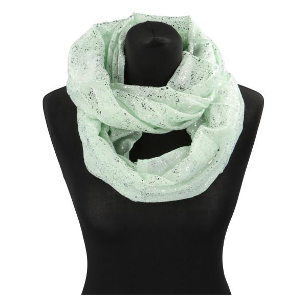 Dámský lehký šátek Sprinkle, zelený