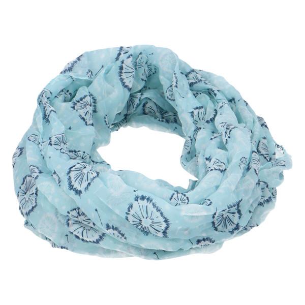 Módní lehký šátek Pam, světle modrá