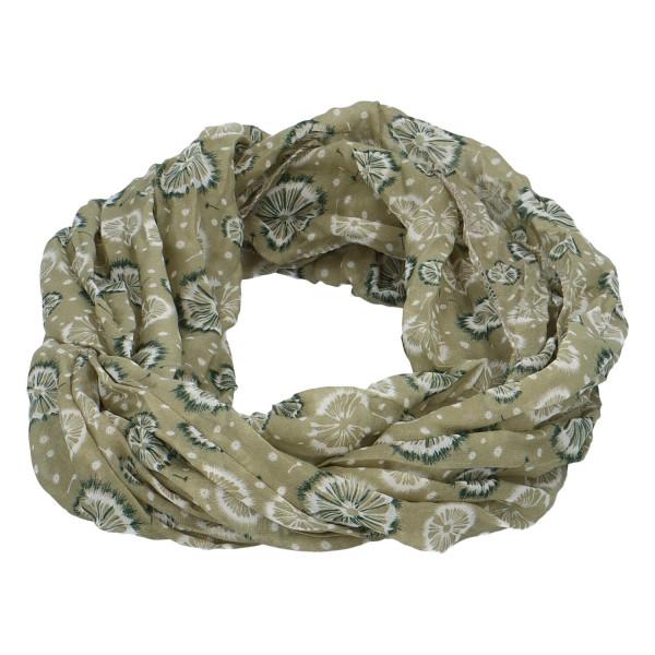 Módní lehký šátek Pam, zelený
