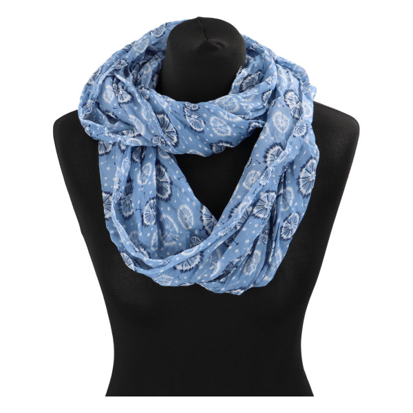 Módní lehký šátek Pam, modrý