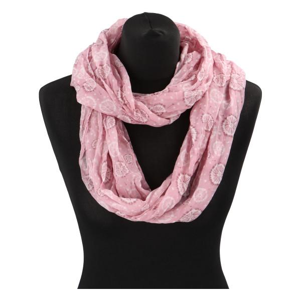 Módní lehký šátek Pam, růžový
