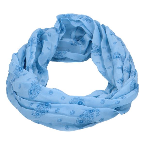 Lehký dámský šátek Planty, světle modrý
