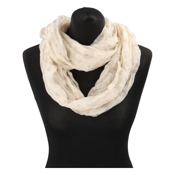 Lehký dámský šátek Planty, béžový