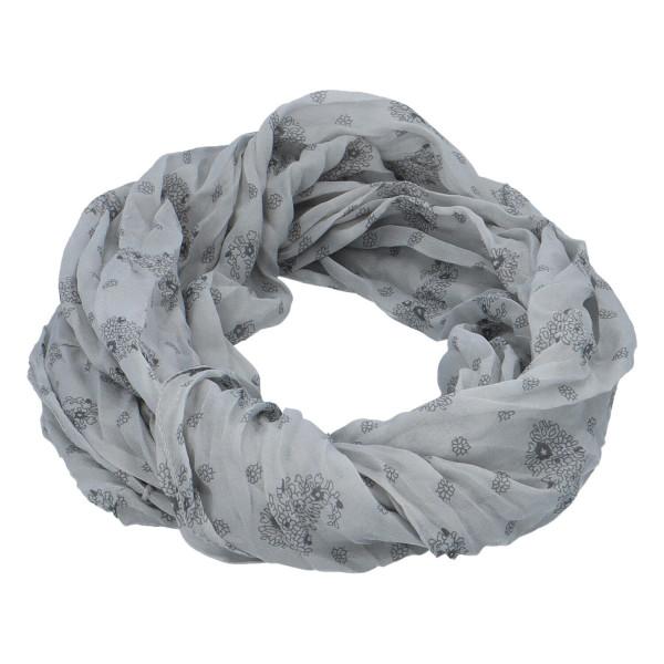 Lehký dámský šátek Planty, šedý