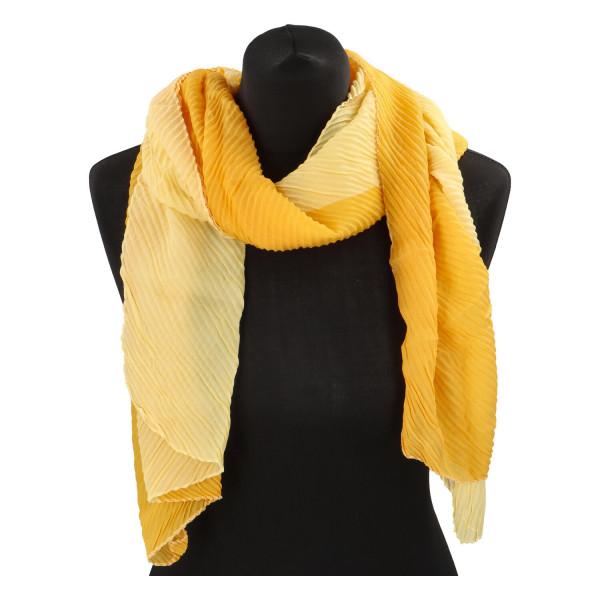 Lehký barevný šátek Semi, oranžový
