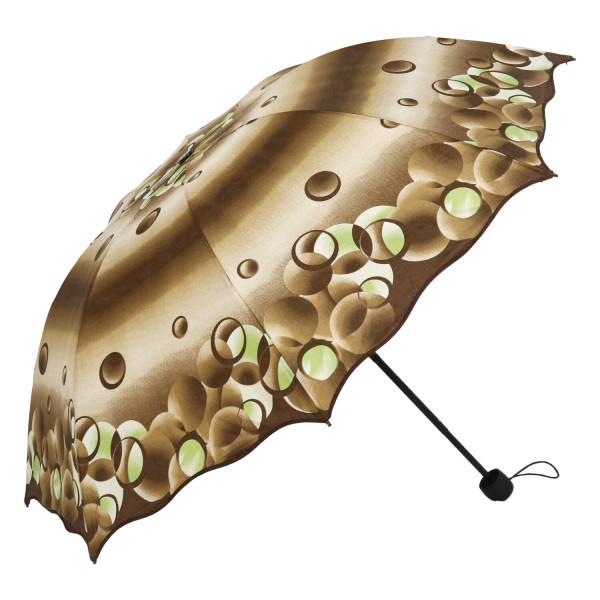 Dámský deštník Bubble, hnědý