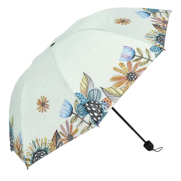 Dámský deštník Paradise, světle zelený