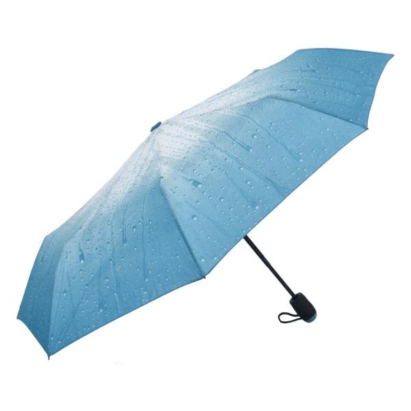 Módní deštník Ombre, modrý