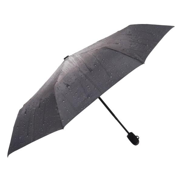 Módní deštník Ombre, šedý