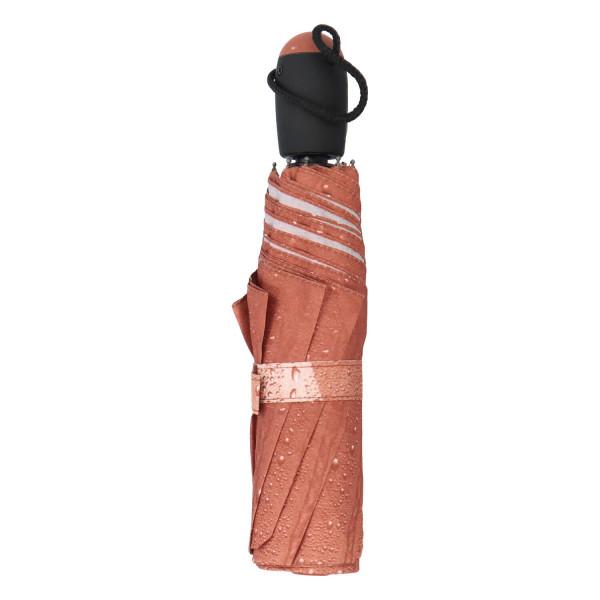 Módní deštník Ombre, hnědý