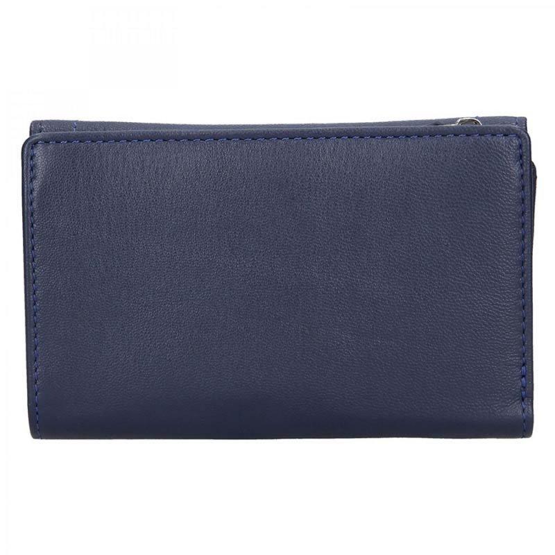 Dámská peněženka Lagen Iris kožená , modrá