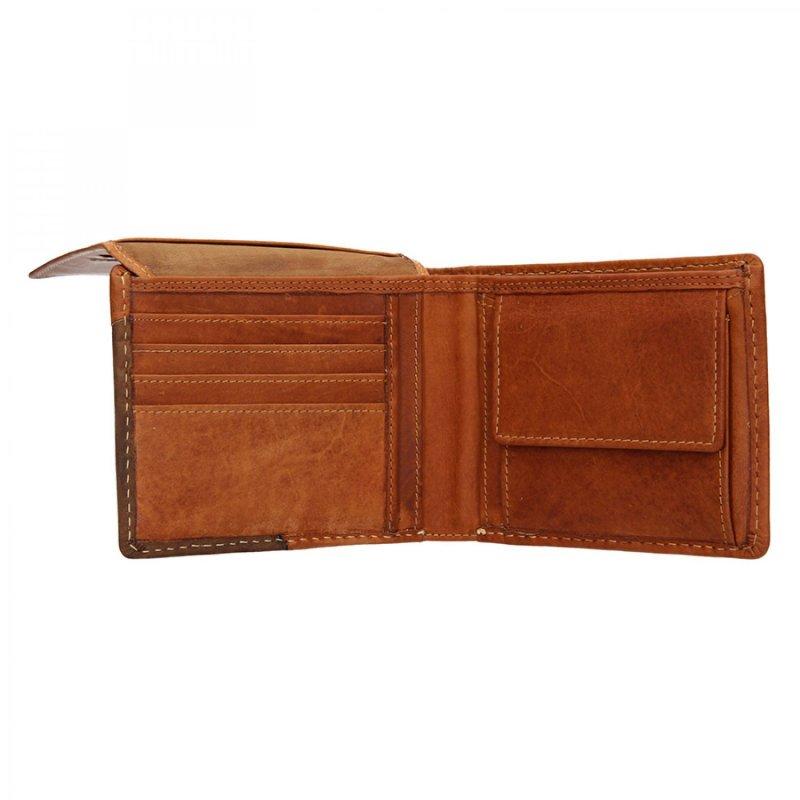 Pánská peněženka kožená Lagen style , světle hnědá