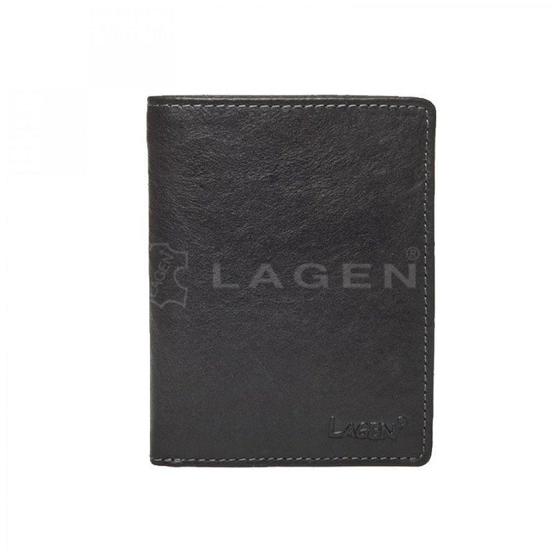 Pánská peněženka Lagen Tom kožená, černá