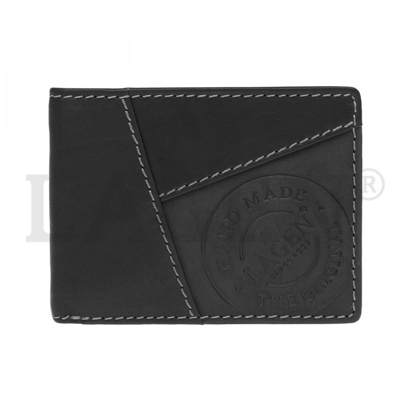 Pánská peněženka Lagen kožená, černá
