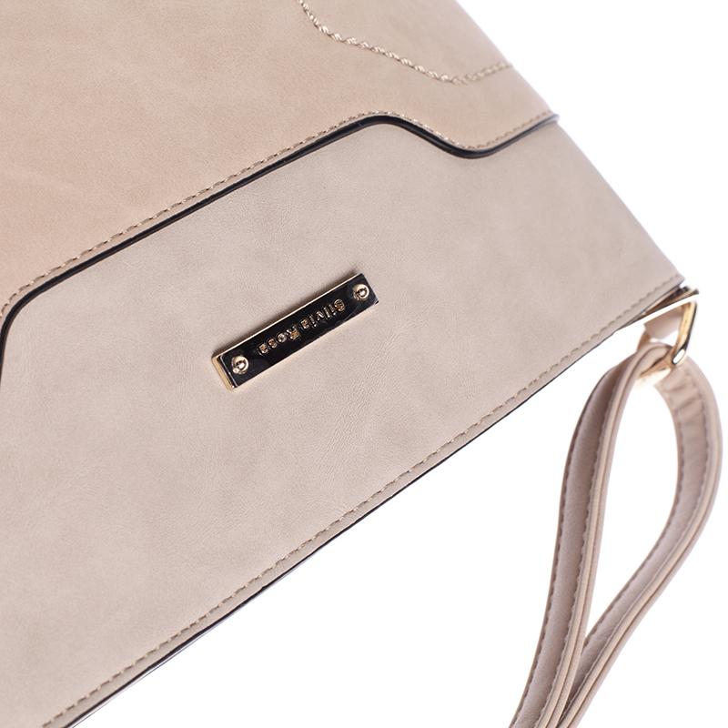 Dámská crossbody kabelka Rebeca, světle béžová