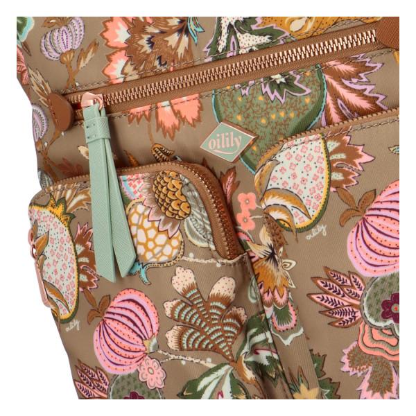 Originální kabelko-batoh s kapsami Oilily Tina