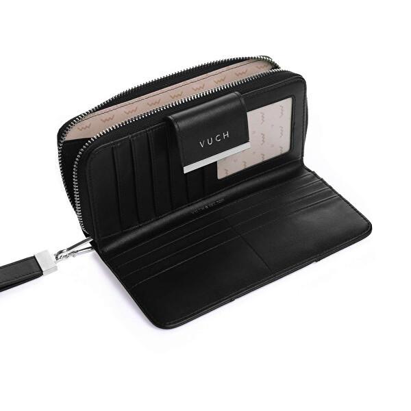 Kožená dámská peněženka VUCH Kayla, černá