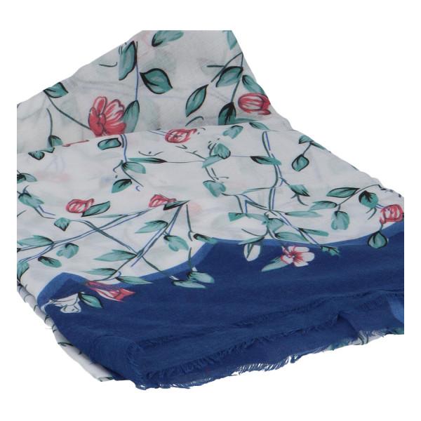Krásný vzorovaný šátek Zemfira, modrá