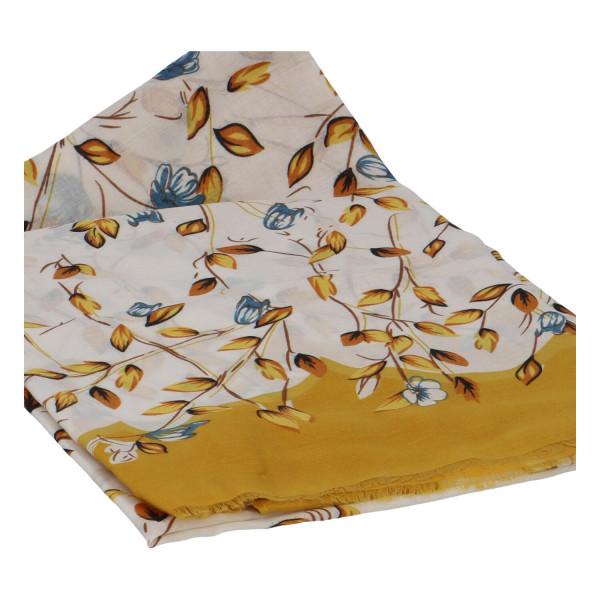 Krásný vzorovaný šátek Zemfira, žlutá