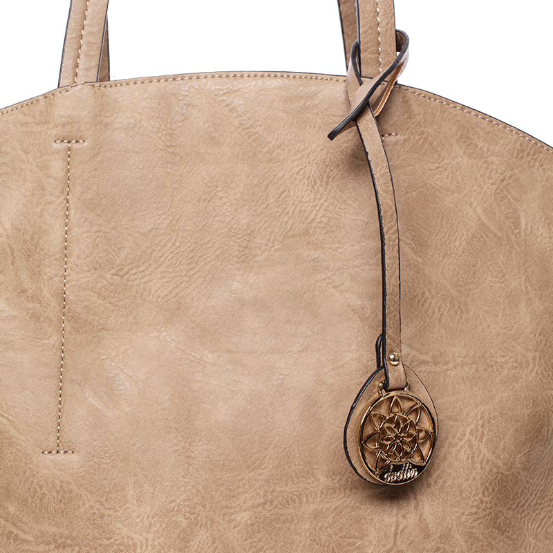 Dámská kabelka přes rameno Samba, světle oříšková