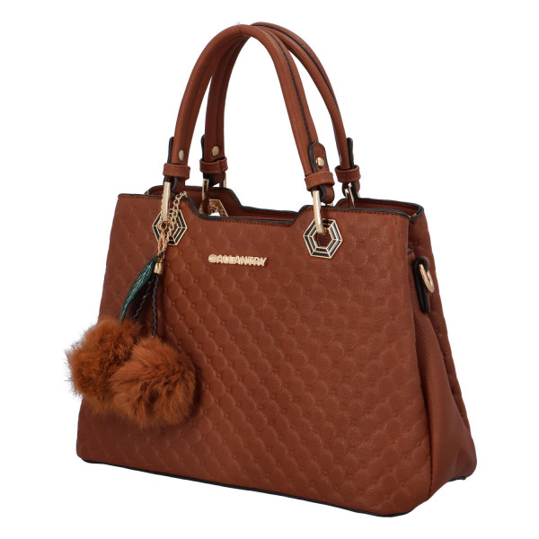 Módní dámská kabelka Lisa, hnědá