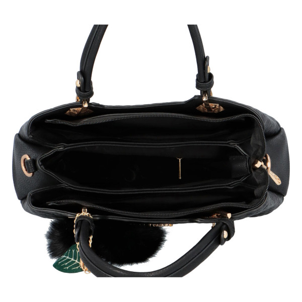 Módní dámská kabelka Lisa, černá