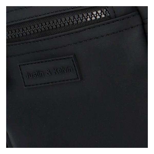 Textilní pánská crossbody Havel, černá