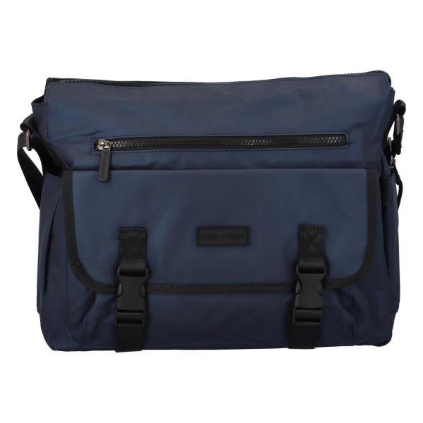 Textilní pracovní taška Quido, modrá