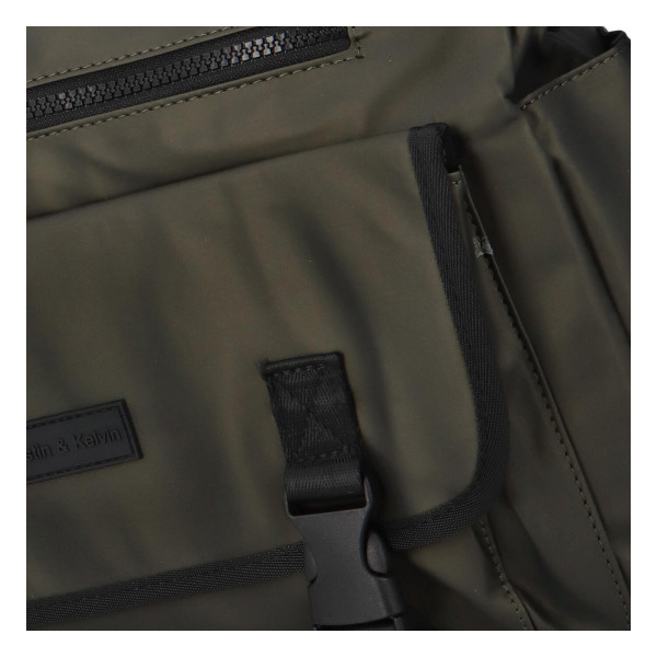 Textilní pracovní taška Quido, zelená