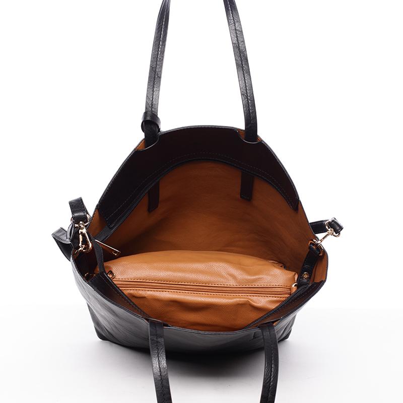 Dámská kabelka přes rameno Samba, černá