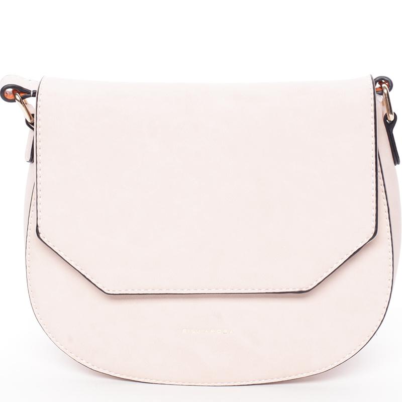 Stylová crossbody kabelka Nia, růžová