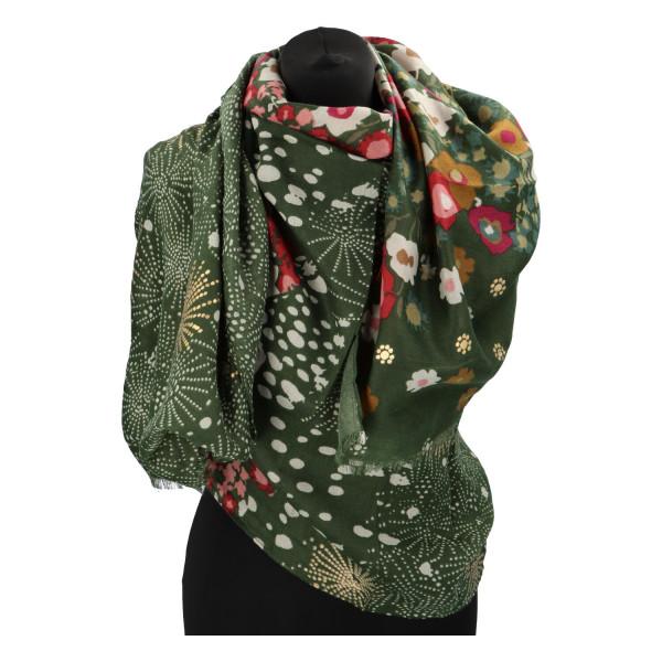 Příjemná dámská šála Dein, zelená