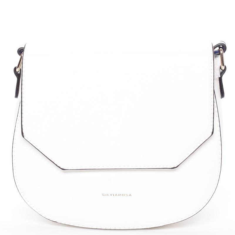 Stylová crossbody kabelka Nia, bílá