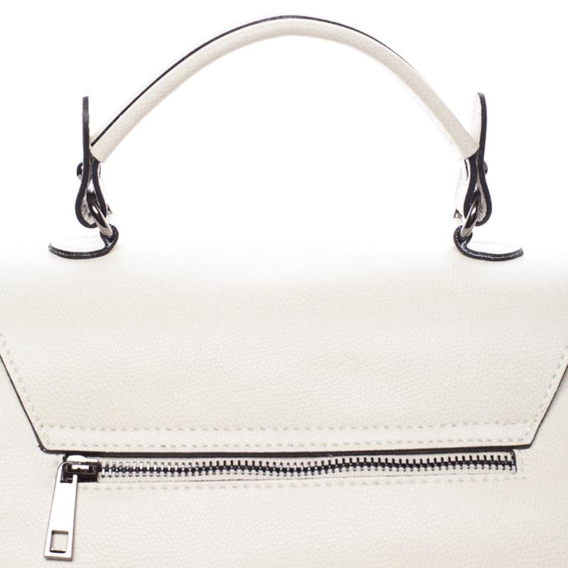Trendy kožená kabelka a crossbody v jednom Jamie, béžová
