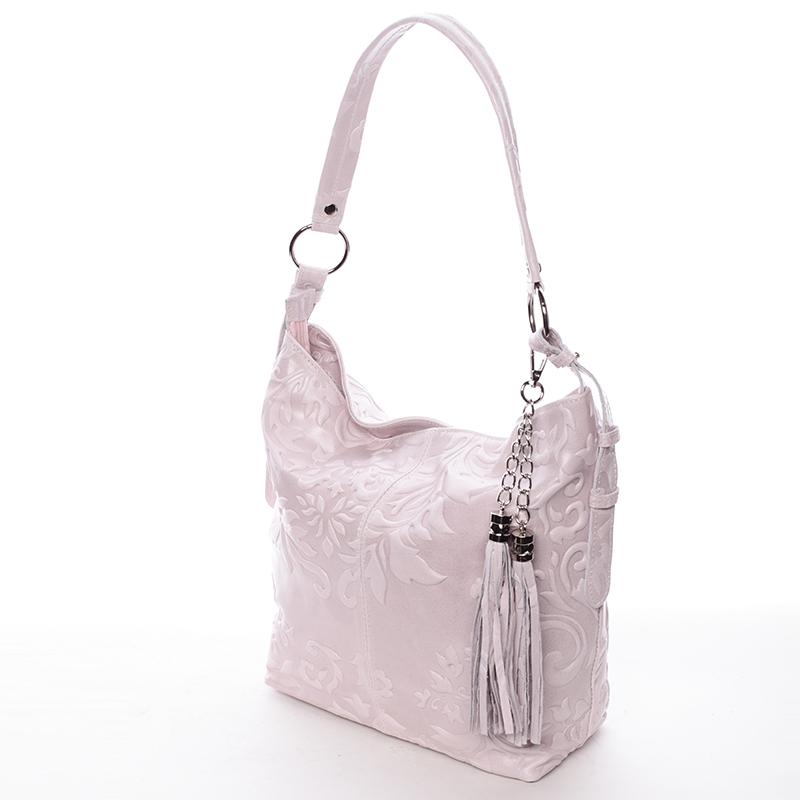 Stylová dámská kabelka Anjali, světle růžová