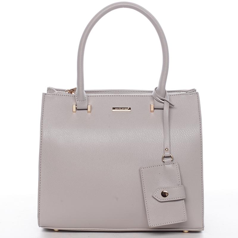 Atraktivní kabelka do ruky Faith, šedá