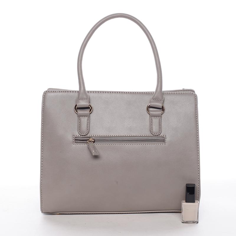 Dámská kabelka do ruky Galilea, šedá