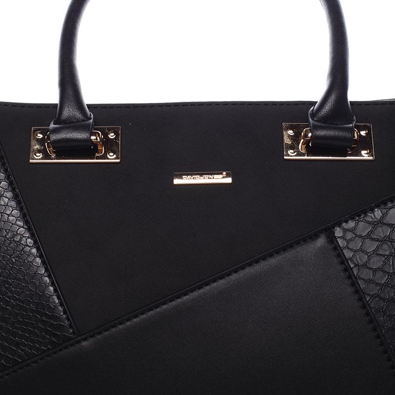 Dámská kabelka do ruky Galilea, černá