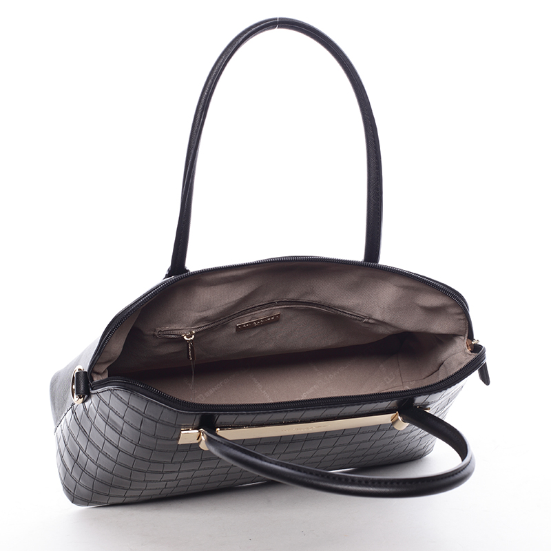 Dámská luxusní kabelka Gianna, černá