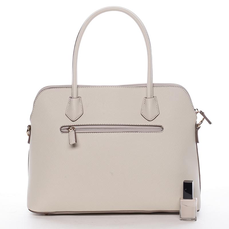 Dámská luxusní kabelka Gianna, béžová