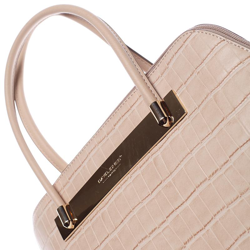 Dámská luxusní kabelka Gianna, přírodní