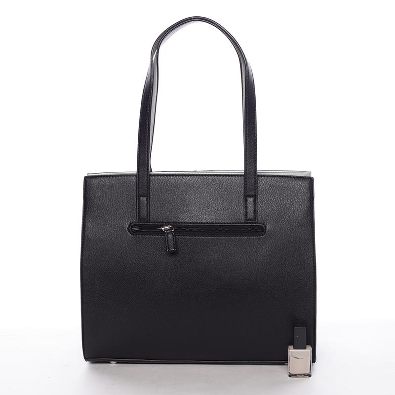 Elegantní dámská kabelka přes rameno Paris, černá