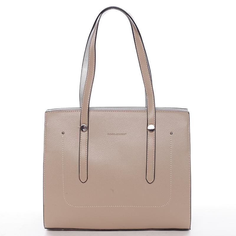 Elegantní dámská kabelka přes rameno Paris, camel