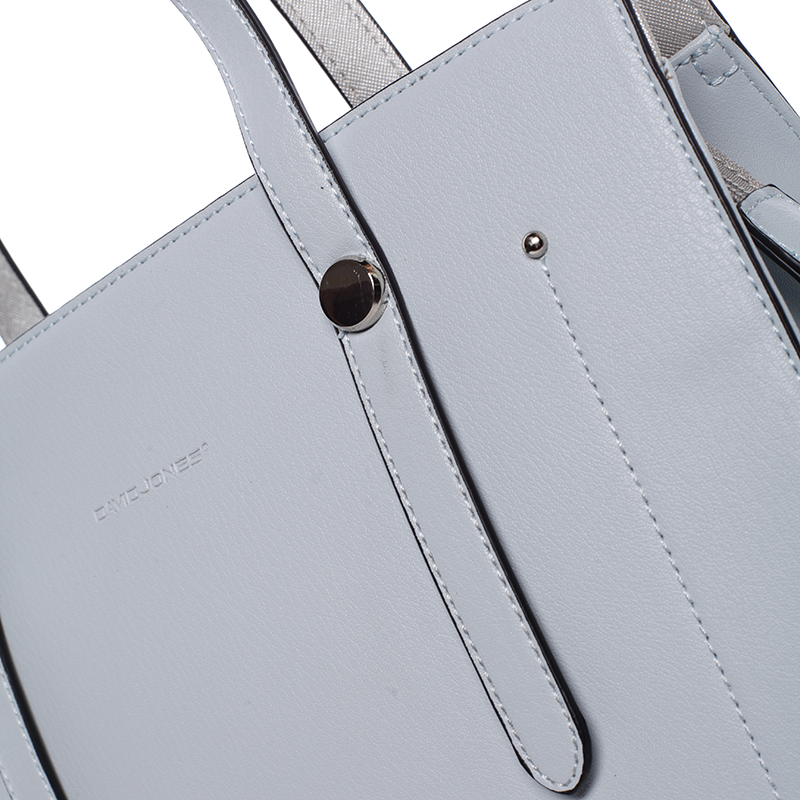 Elegantní dámská kabelka přes rameno Paris, světle modrá