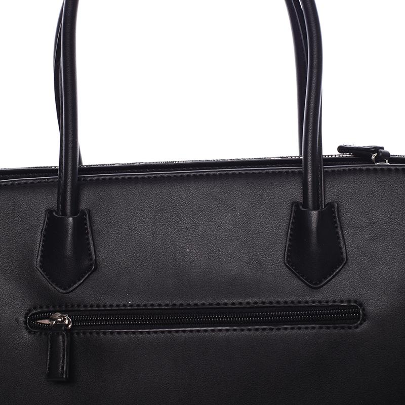 Elegantní kabelka do ruky Victoria, černá