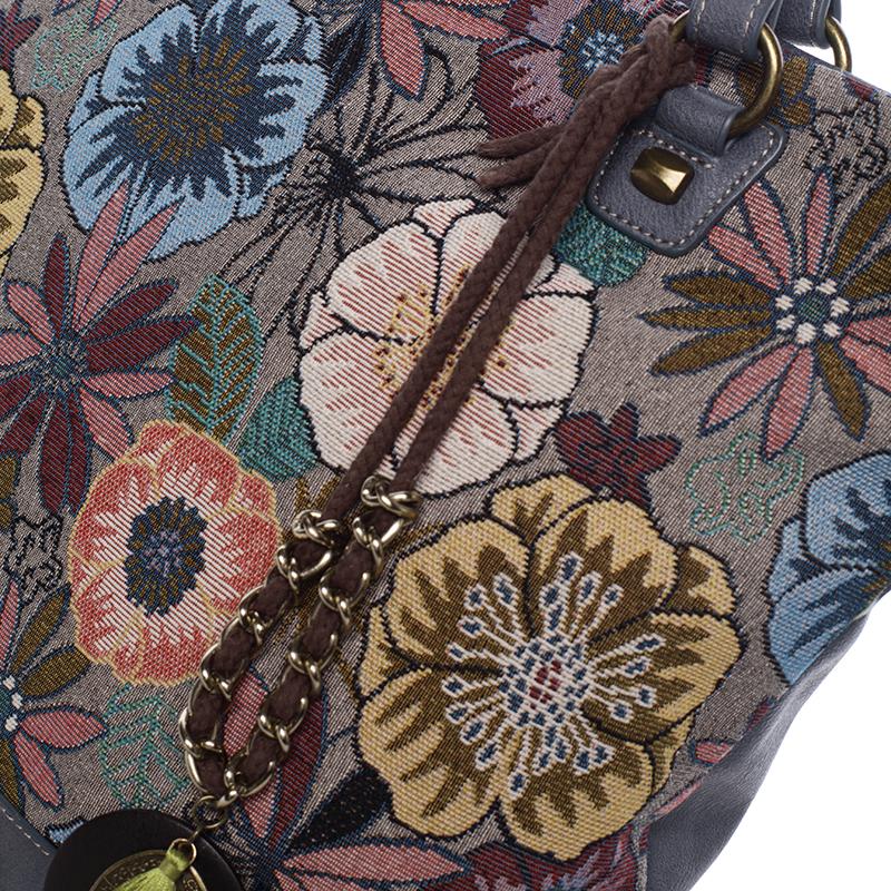 Originální vzorovaná kabelka Violet, modrá
