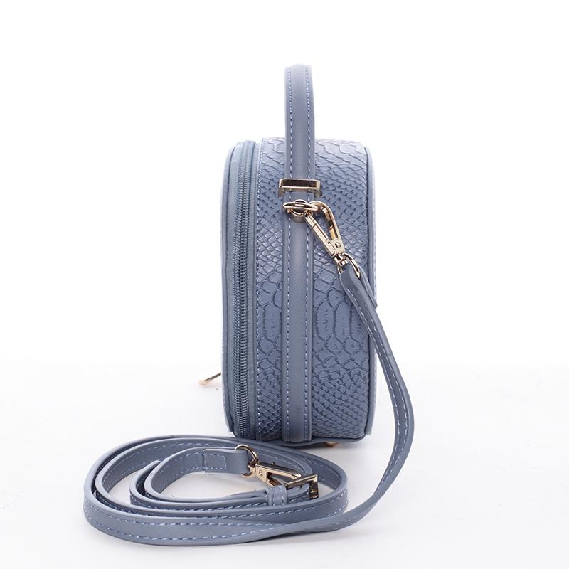 Elegantní malá crossbody Virginia, modrá