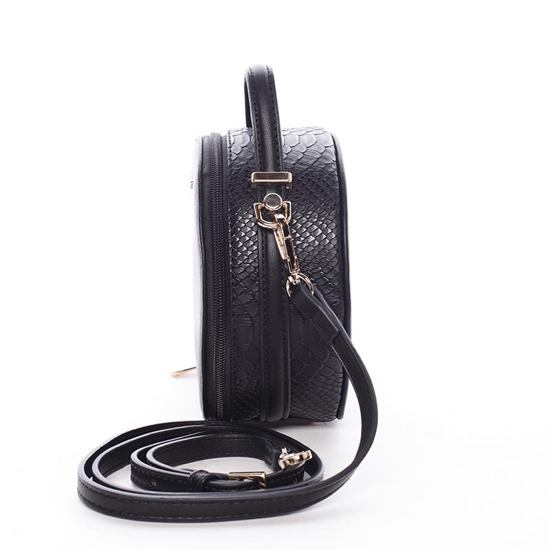 Elegantní malá crossbody Virginia, černá