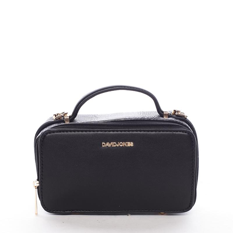 Crossbody ve tvaru malého kufříku, černá